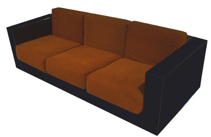 A Three Seat Modernist Sofa By Massimo And Elena Vignelli At 1stdibs