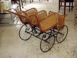 Heywood American Twin Baby Carriage image 4