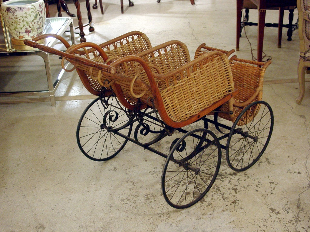 Heywood American Twin Baby Carriage 4