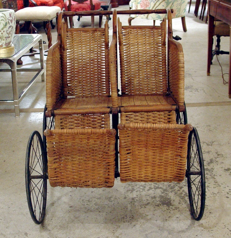 Heywood American Twin Baby Carriage 7