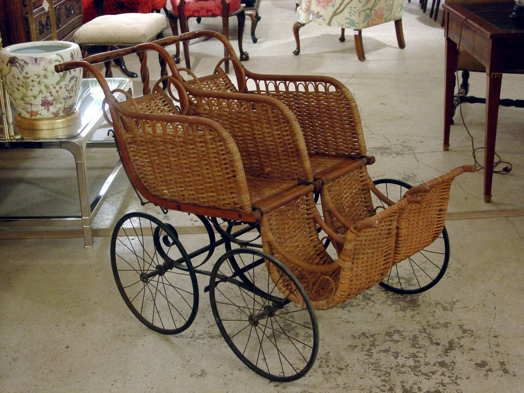Heywood American Twin Baby Carriage 2