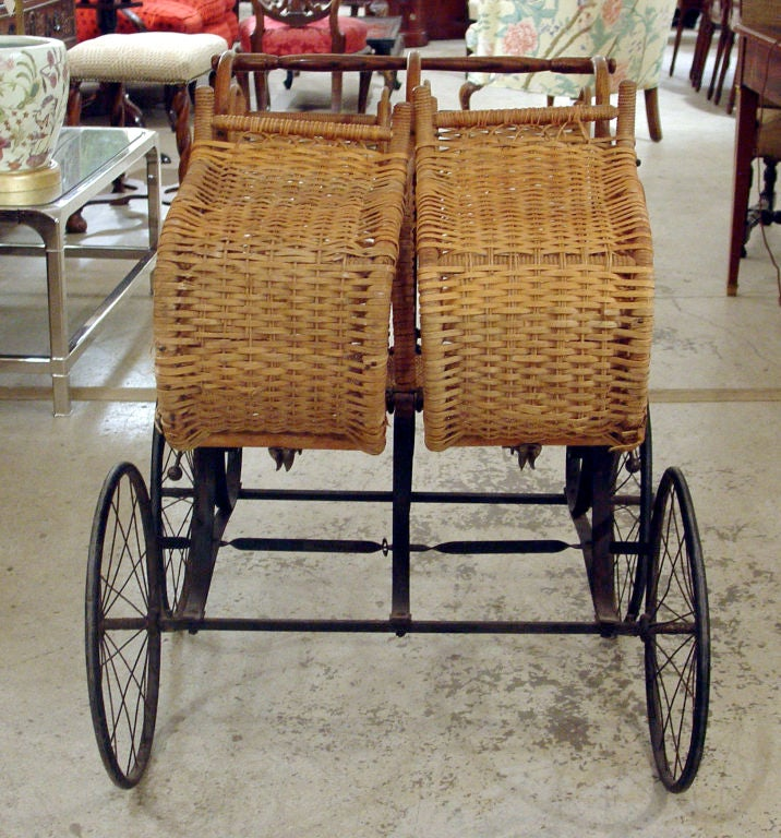 Heywood American Twin Baby Carriage 10