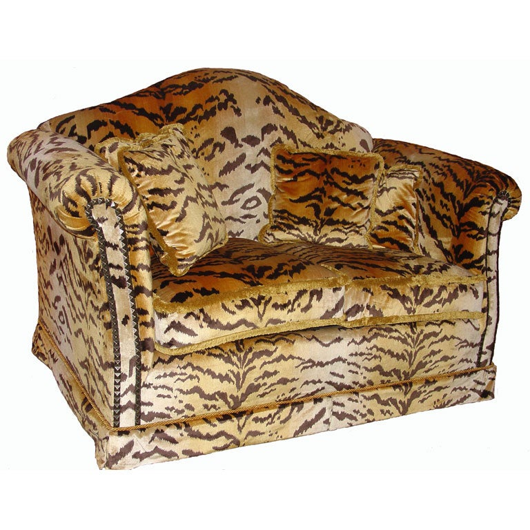Tiger Print Sofa Suddenly A Leopard Print Sofa Ears Thesofa