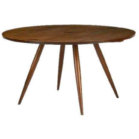 George Nakashima Circular Dining Table