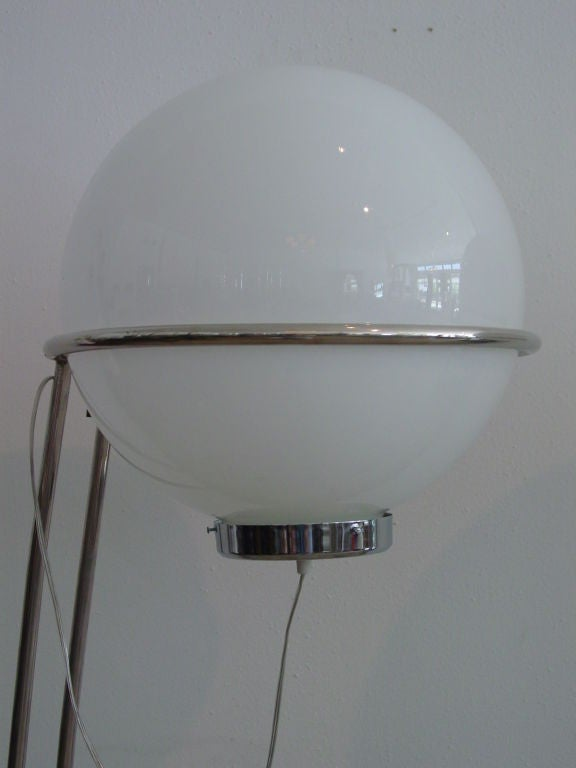 Pair Space Age Floor Lamps 2