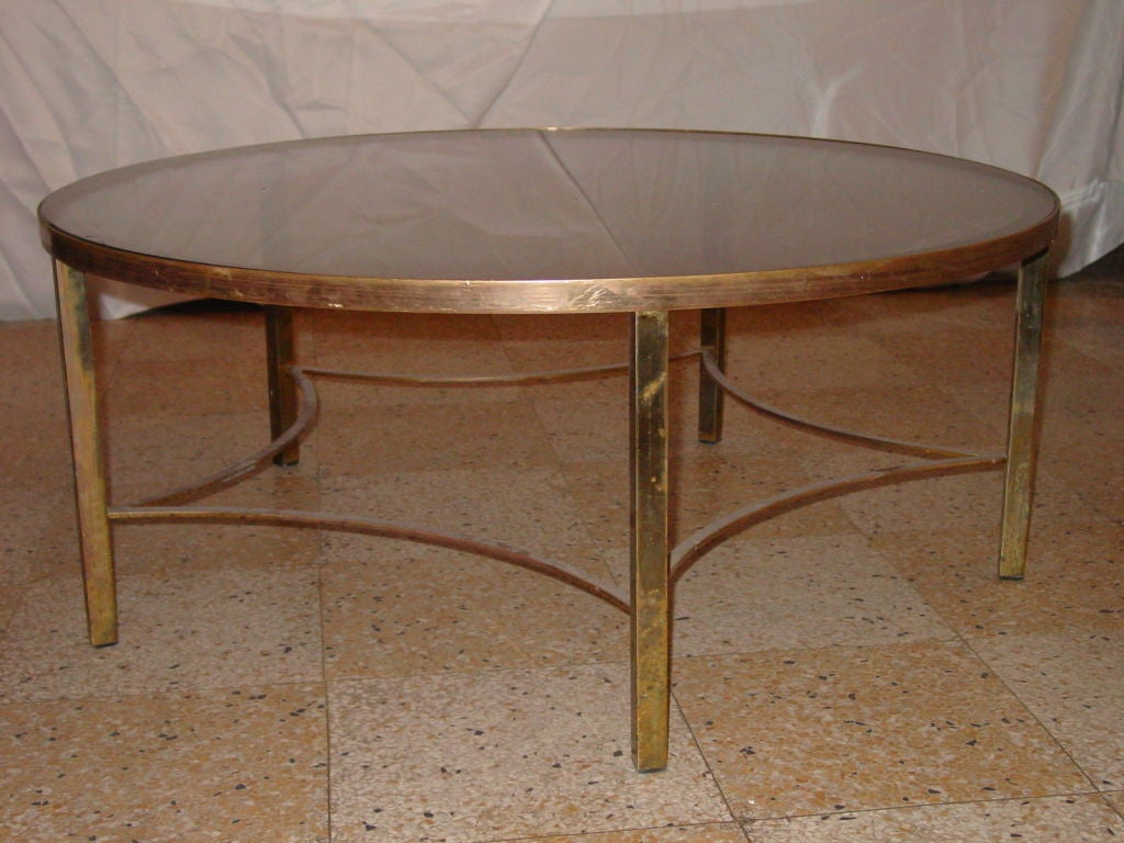 Unusual brass coffee table at 1stdibs for Quirky coffee tables