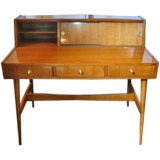 Exquisite Mid-century  Pallisandre Writing Desk