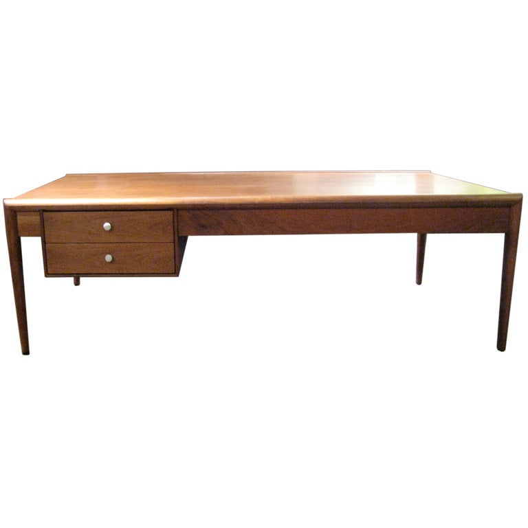 Walnut Coffee Table By Drexel At 1stdibs