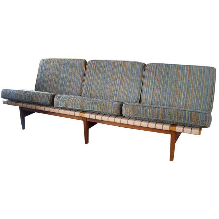 Rare and early sofa by lewis butler for knoll sale at for Sofa butler