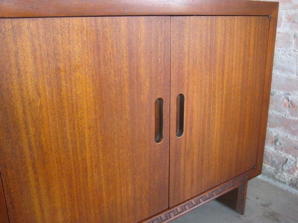 Mahogany cabinet by Frank Lloyd Wright image 2