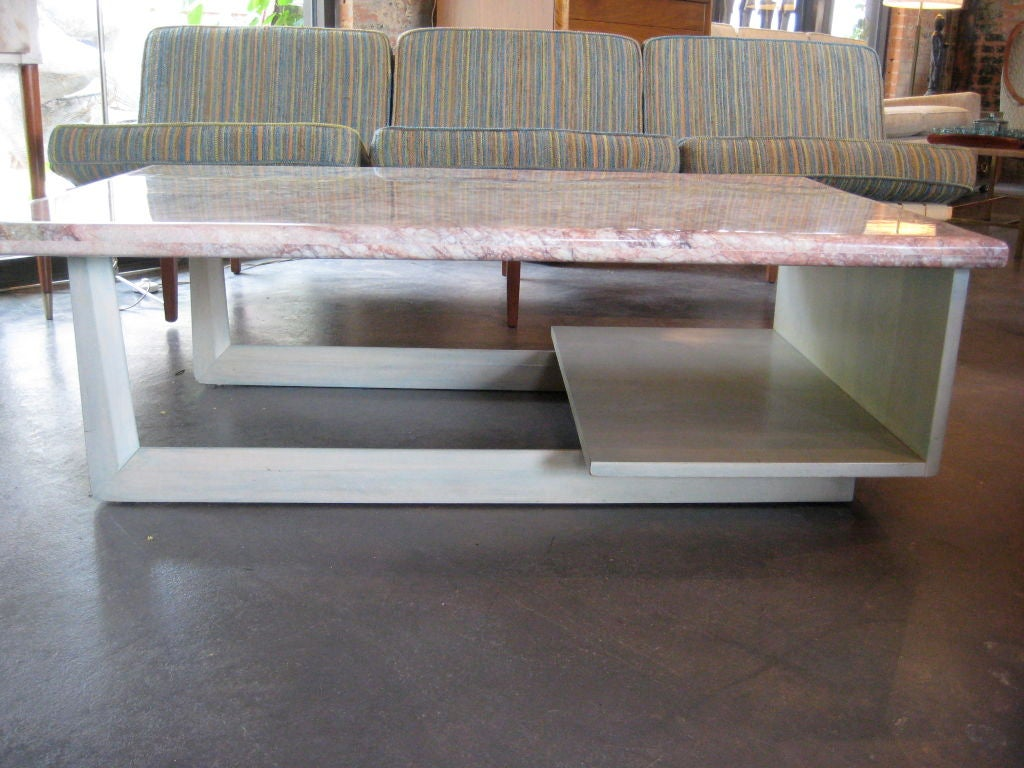 large stone top coffee table sale at 1stdibs With granite top coffee tables for sale