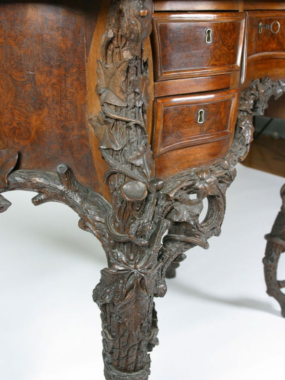 Fantasy Furniture Bombe And Serpentine Table At 1stdibs