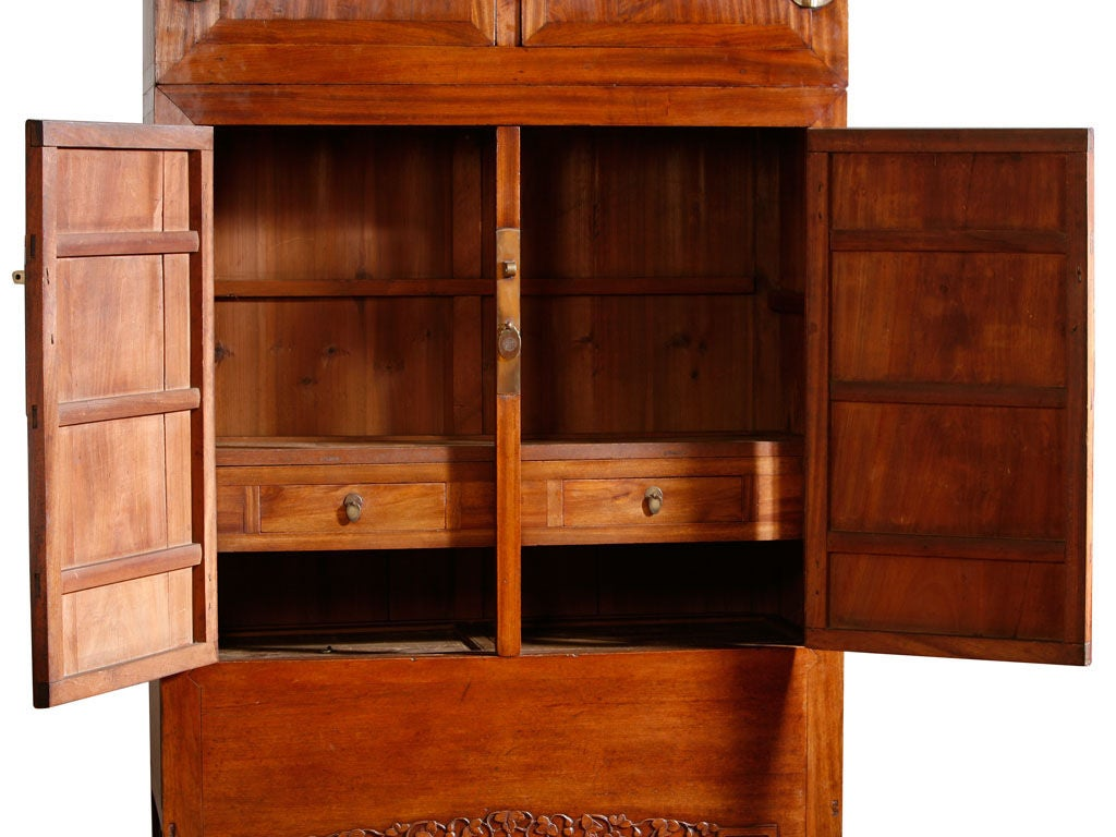 Pair of chinese ming clothes cupboards at 1stdibs for Oriental furniture norwalk ct