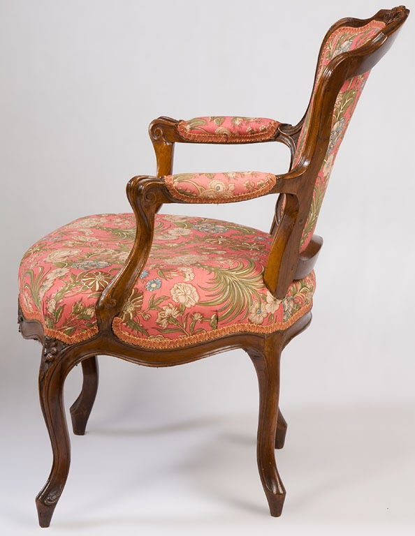 French Louis Xv Fauteuil At 1stdibs