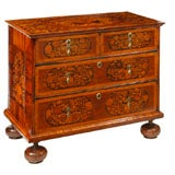 William And Mary Marquetry Chest