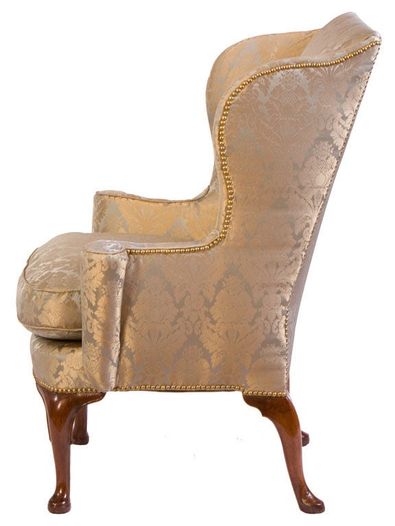 This Queen Anne wing chair is no longer available.