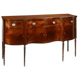 Philadelphia Federal serpentine sideboard