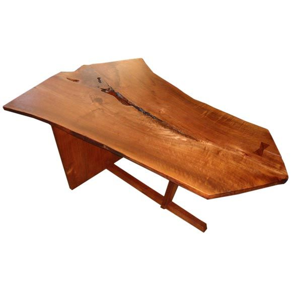 George Nakashima Prototype For The Minguren Table At 1stdibs