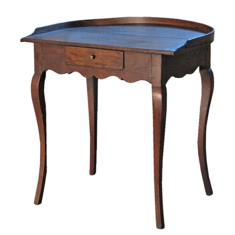 Italian Baroque 18th century Demi-Lune Desk