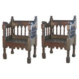 Carved Armchair At 1stdibs