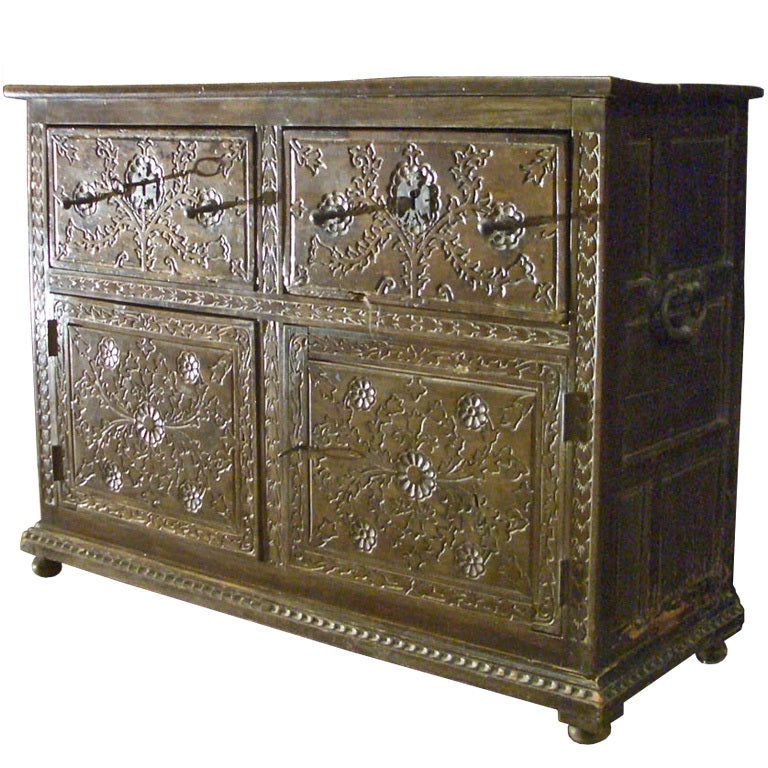 Spanish baroque side board commode at 1stdibs for Spanish baroque furniture