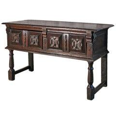Early English Oak Sideboard or Dresser