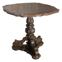 Italian Baroque Center Table