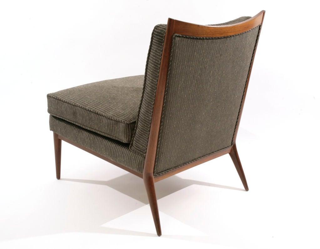 Paul mccobb slipper chair at 1stdibs for Slipper chair