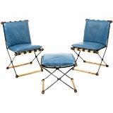 Cleo Balden Chairs & Ottoman
