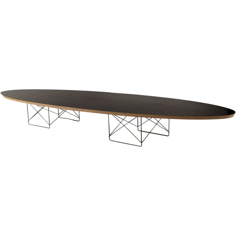 Charles And Ray Eames Etr Surfboard Table At 1stdibs