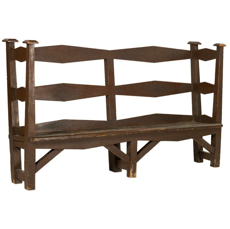 Arts And Crafts Benches