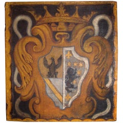 Painted Italian Crest