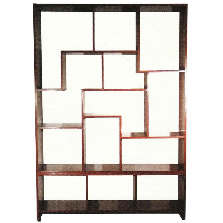 european modern cherry wood etagere for sale at 1stdibs. Black Bedroom Furniture Sets. Home Design Ideas