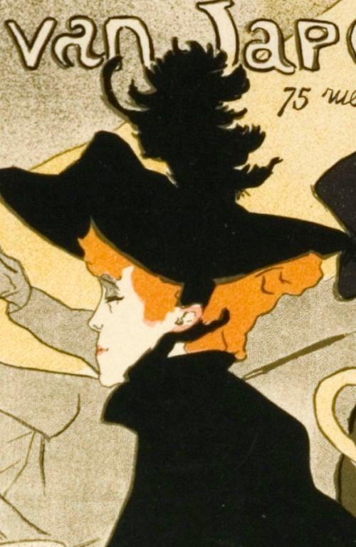 Maitres de l 39 affiche pl 2 divan japonais by toulouse for Divan japonais poster value