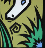"""White Alligator"" - 1990s San Francisco Zoo poster image 4"