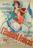 Turn-of-the-Century Bicycle poster by Jules Cheret