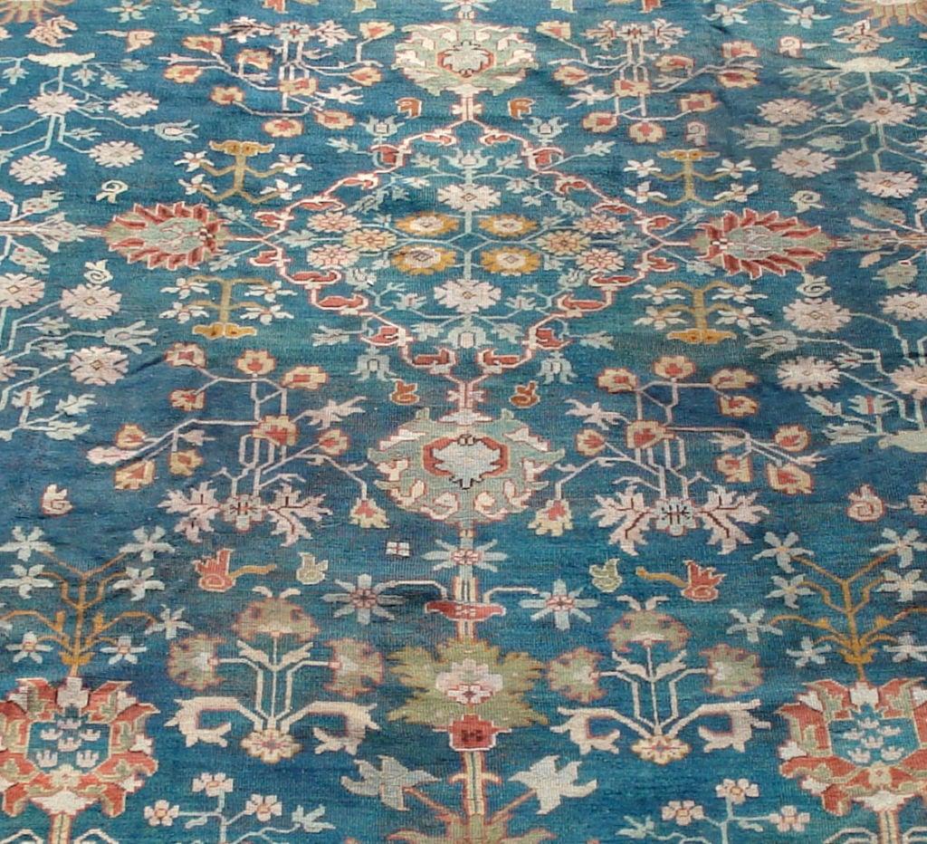 Antique Oushak Carpet 2