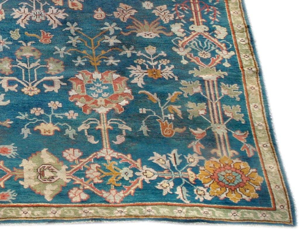 Antique Oushak Carpet 3