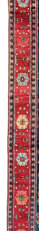 Northwest Persian Gallery Sized Carpet, 18th Century In Good Condition For Sale In San Francisco, CA