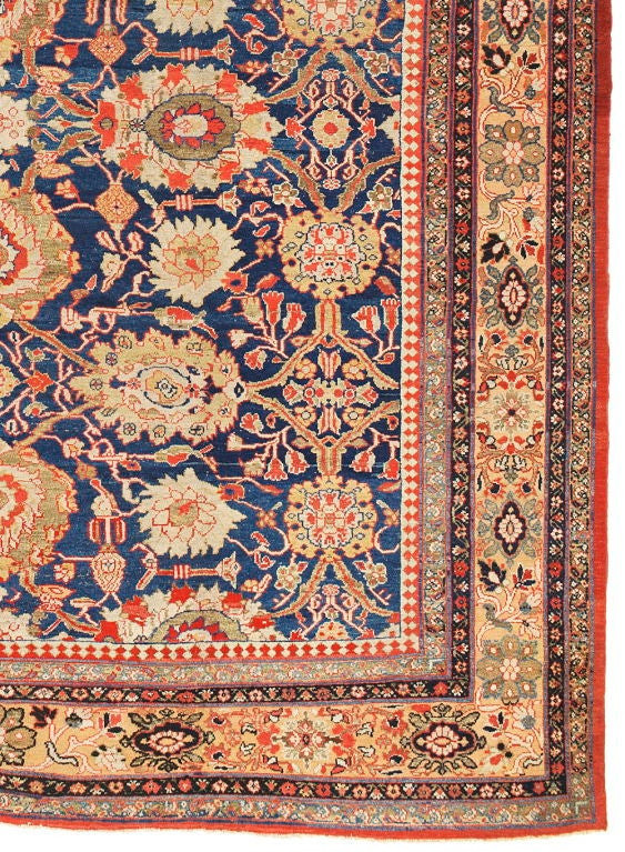 Antique Sultanabad Carpet at 1stdibs