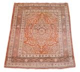 Tabriz Scatter Rug in Subtle Soft Colors