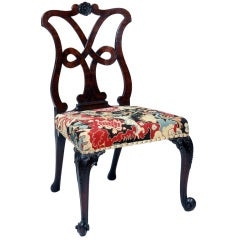 A Mahogany Loop Back Side Chair