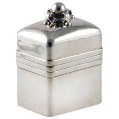 Rare Spratling Sterling Silver Tea Caddy 1945 Taxco
