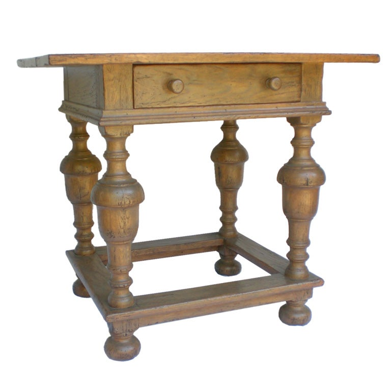 Spanish Colonial Style Table At 1stdibs
