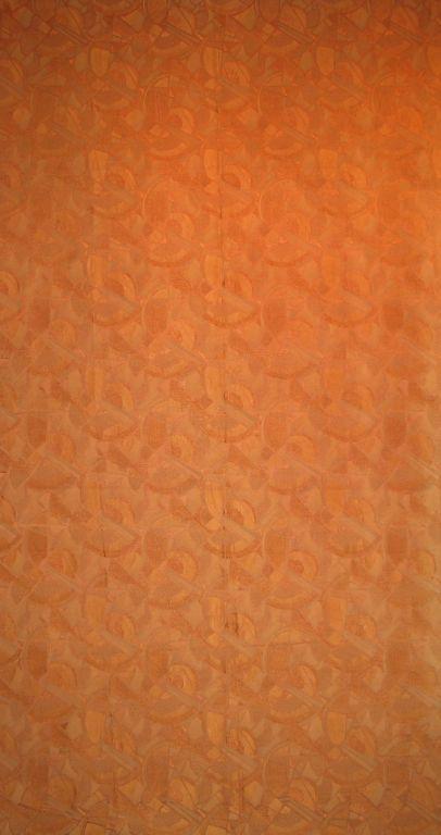 Art Deco Fabric Panel