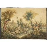 Aubusson Verdure Tapestry Painting