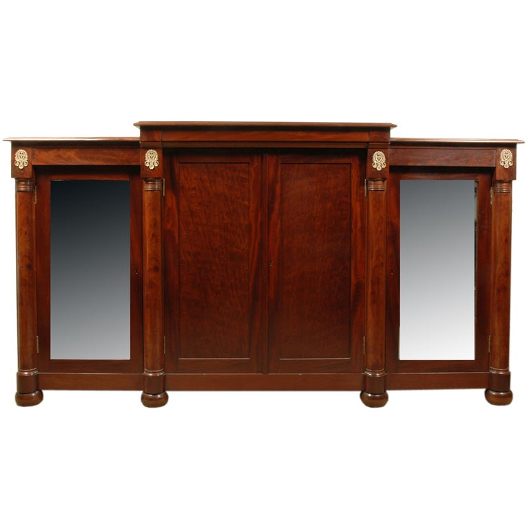 American neo classic cabinet at 1stdibs for American classic storage