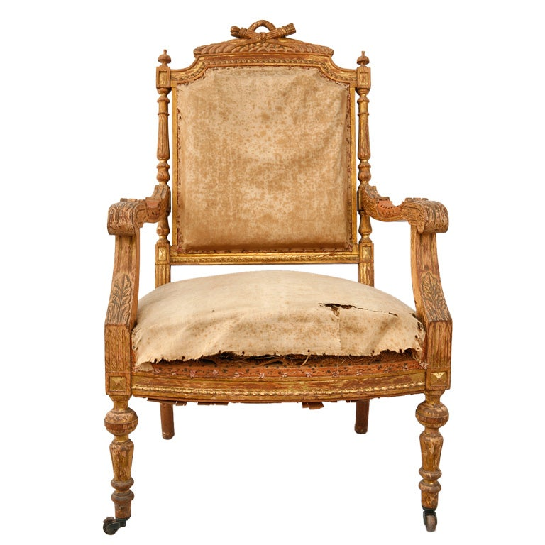 Louis Xvi Arm Chair At 1stdibs