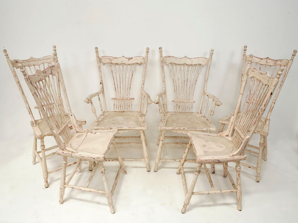 Painted Wood Dining Chairs For Sale At 1stdibs