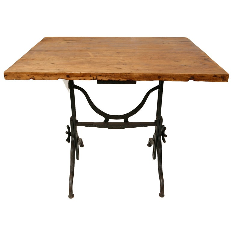 Antique Drafting Table By Fritz And Goeldel Mfg Co At 1stdibs